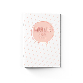 Sổ lịch planner B6 SDstationery LIFE & NATURE 24 tháng 2021-2022