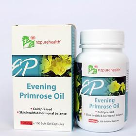 Thực phẩm chức năng Viên uống tinh dầu hoa anh thảo NZPureHealth Evening Primrose Oil 100 viên