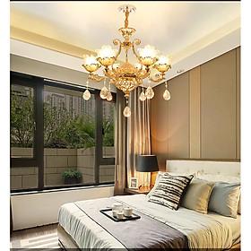 Đèn chùm - đèn trang trí pha lê NANIAN hiện đại trang trí nội thất