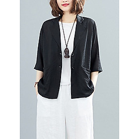 Áo vest nữ tay lỡ ArcticHunter. thời trang trẻ, phong cách Nhật Bản, thương hiệu chính hãng