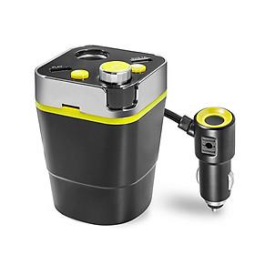 5V Cigarette Lighter Splitter A28 Car Mp3 Player Hands-free Call