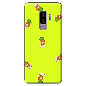 Hình đại diện sản phẩm Ốp Lưng Điện Thoại Dành Cho Samsung Galaxy S9 Plus - Họa Tiết Gấu Cà Rốt