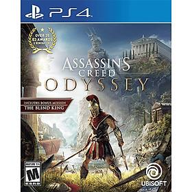 Đĩa game PS4 Assassin's Creed Odyssey - Hàng Nhập Khẩu