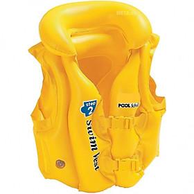 Áo Phao Bơi Cho Bé Màu Vàng Thời Trang 48 x 46cm