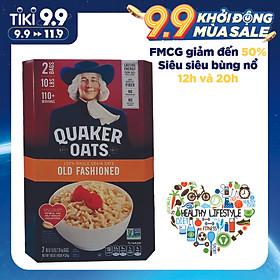 Yến Mạch Quaker Oats Old Fashion 4,52kg (Dạng Hạt cán Mỏng)