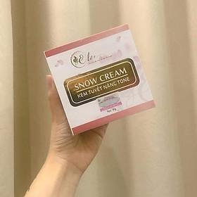 Kem Ngày Elite Snow Cream - 30 Gram - Hàng Chính Hãng - Tinh Chất Dưỡng Trắng - Make Up - Với SPF 55/PA+++ Độ Chống Nắng Cao - Bảo Vệ Da Tối Ưu Khỏi Tia Ngoại Ánh Sáng Mặt Trời.