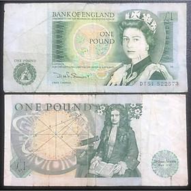 Tiền cổ Anh 1 bảng Nữ hoàng Elizabeth II