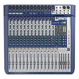 Bộ Trộn Âm Thanh Soundcraft Signature 16-EU-Mixing
