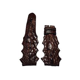 Dây đồng hồ da cá sấu Ruby Luxury mẫu gai chân mới