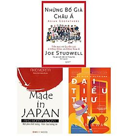 Combo Sách Kinh Doanh Hay:  Những Bố Già Châu Á  + Made In Japan + Giới Siêu Giàu Châu Á 2 - Đại Tiểu Thư