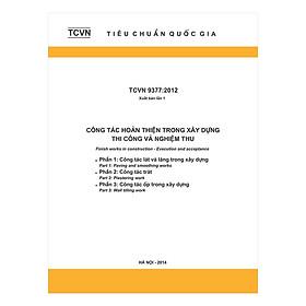 TCVN 9377:2012 - Công Tác Hoàn Thiện Trong Xây Dựng Thi Công Và Nghiệm Thu