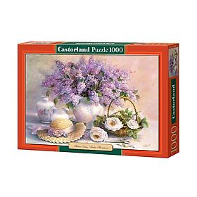 Đồ chơi ghép hình puzzle Flower Day, Trisha Hardwick 1000 mảnh Castorland C102006