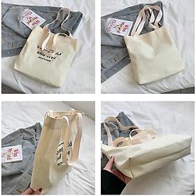 Biểu đồ lịch sử biến động giá bán Túi tote túi vải canvas đeo vai in chữ