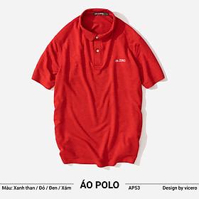 Áo Phông Nam Có Cổ Đẹp Trơn Cao Cấp Tay Ngắn Polo Vicero