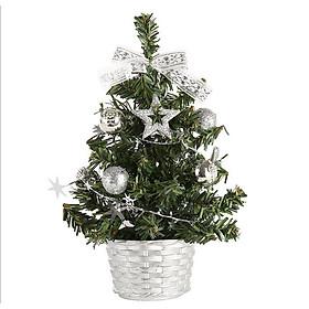 Cây thông Noel mini để bàn trang trí Giáng Sinh - 40cm