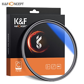 K&F CONCEPT Ultra Slim Multi Coated MC UV HD Lens Filter Compatible with Canon Nikon Sony DSLR Camera Lens