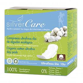 Băng vệ sinh hữu cơ ban ngày có cánh Silvercare (10 miếng)