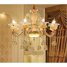 Đèn Chùm 8 Tay KIMILOG Thiết Kế Sang Trọng Phù Hợp Trang Trí Phòng Khách, Nhà Hàng, Khách Sạn