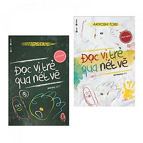 [Download sách] Combo Đọc Vị Trẻ Qua Nét Vẽ ( Lý Thuyết + Thực Hành ) - Tặng Bookmark Phương Đông Books