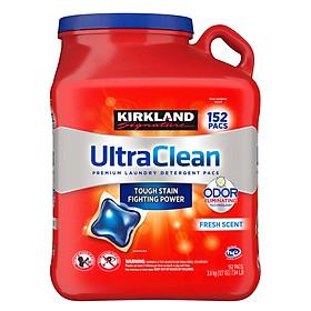 Viên Giặt Kirkland Signature Ultra Clean 152 Viên Của Mỹ - Mẫu mới
