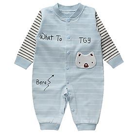 Bộ áo liền quần cho bé , thiết kế dễ thương đáng yêu 0118