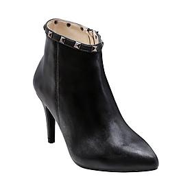 Giày Bốt Nữ Da Thật Gosto Diva GS0000316BLK (Đen)