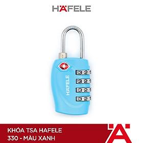 Khóa TSA Hafele 330 màu xanh - 482.09.007 (Hàng chính hãng)