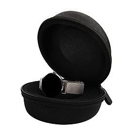 Watch Storage Case Waterproof Portable Watch Travel Case Single Smart Clock Rits Box with Zipper, Fall&Shock Proof
