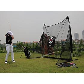 Khung lưới tập golf tại nhà kt 2.5mx2.5m