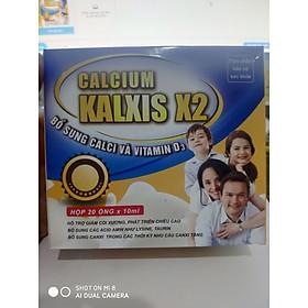 Calcium Kalxis X2 Bổ Sung CALCI Và VITAMIN D3
