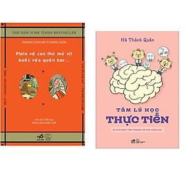 Combo 2 cuốn sách: Tâm lý học thực tiễn + Plato và con thú mỏ vịt bước vào quán bar