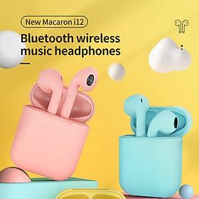 Tai Nghe Nhét Tai Bluetooth 5.0 Không Dây Inpos12 Mate Cho Android I7S I9S I11 I12 Tws