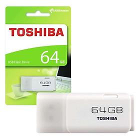 USB 64GB TOSHIBA U202 (Trắng) - Hàng chính hãng