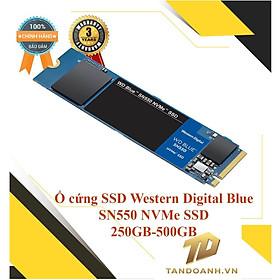 Ổ cứng SSD Western Digital Blue M.2 SN550 NVMe SSD 250GB - 500GB - HÀNG CHÍNH HÃNG