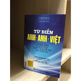 Từ điển Anh – Anh- Việt ( HƠN 35.000 TỪ ) (bìa trắng xanh) ( BẢN MỚI 2020) KT