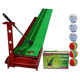 Thảm tập golf putting green gỗ 0.3mx3m
