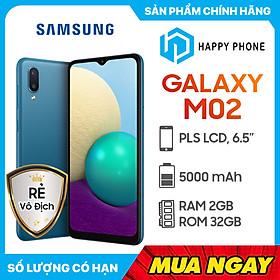 Điện Thoại Samsung Galaxy M02 (2GB/32GB) – Hàng Chính Hãng- Đã kích hoạt bảo hành điện tử