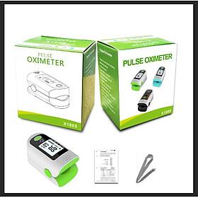 1805 Pulse Measuring Device Portable Finger Clip Oximeter Blood Pressure Meter Heart Rate Detector