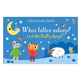 Usborne Who's fallen asleep? ...is it the fluffy sheep?