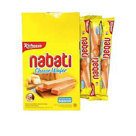 Bánh Xốp Phô Mai Richeese Nabati Cheese Wafer 160g