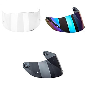 3 Pieces Replacement Motorcycle Full Face Helmet HD Visor for  K3 K4 EVO