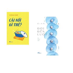 Combo 2 cuốn sách: Cái nôi gì thế + Đợi đến lượt