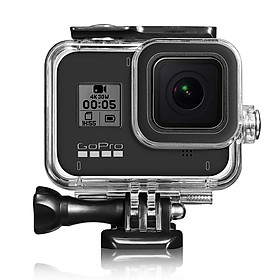 For Gopro Hero 8 Black Waterproof Housing Case Underwater Protective Shell Action Camera Accessories