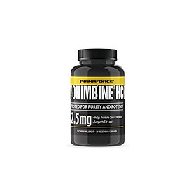 PrimaForce Yohimbine HCl, 2.5mg Capsules - Weight Loss Supplement - Supports Fat Loss, Boosts Metabolism, 90 Count (Pack of 1)