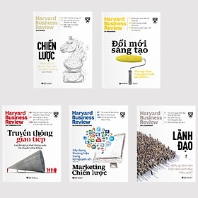 Combo Ấn Phẩm Dành Cho Doanh Nhân Và Quản Lý - HBR On Point 1 - Tái Bản 2020: Chiến Lược + Lãnh Đạo + Marketing Chiến Lược + Truyền Thông Giao Tiếp + Đổi Mới Sáng Tạo