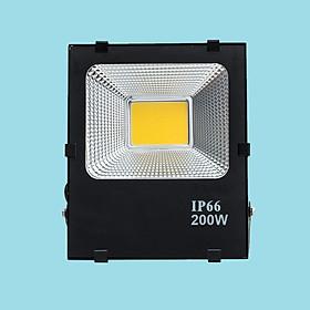 Đèn pha LED 200W sáng vàng FACOB-BL-200