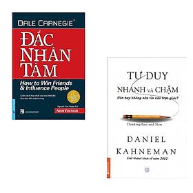 Combo sách Đắc Nhân Tâm (Khổ Lớn) & Tư Duy Nhanh Và Chậm