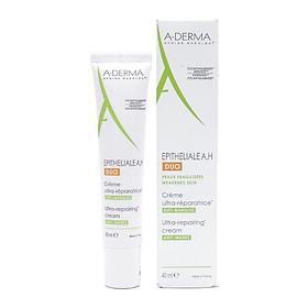 Kem dưỡng làm liền sẹo, tái tạo da Epitheliale A.H DUO Ultra Repairing Cream A-Derma 40ml