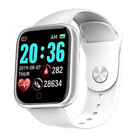 Đồng hồ thông minh nam nữ smartwatch Y68, đo nhịp tim, thông báo cuộc gọi tin nhắn