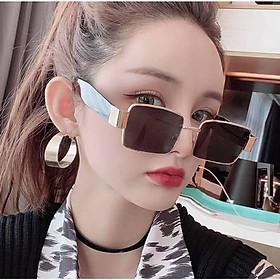 Kính râm Nam nữ thời trang chống nắng uv thời trang Hàn Quốc (ĐEN)